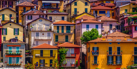 Houses on Lake Como