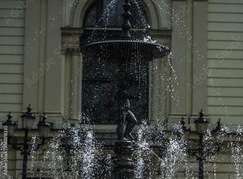 Wall mural fontanna