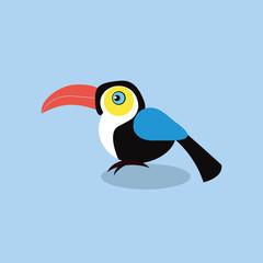 cute toucan bird