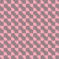 Curve line repeating seamless pattern design.vector