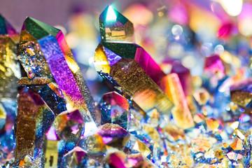Kristalle Lichtbrechung Prisma