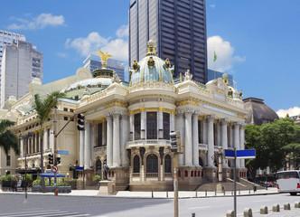 Рио-де-Жанейро. Городской театр.