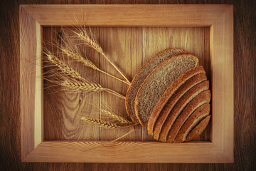 Bread and spikelets