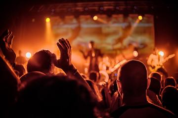 Obraz Pubblico al concerto - fototapety do salonu