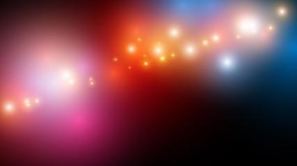 kolorowe światła tło wektor
