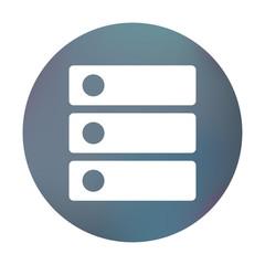 Farbiger Button - Ordner-Unterteilungen