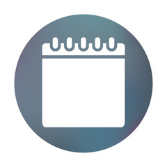 Farbiger Button - Kalender