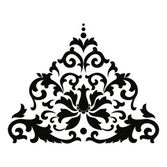 Vector Asian style ornament.