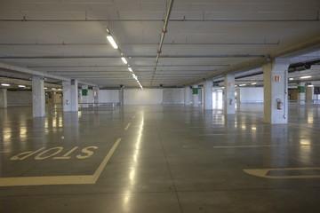 Supermarket parking