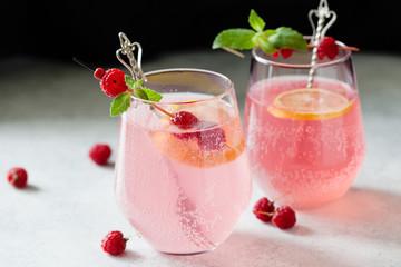 Sparklind pink raspberry lemonade