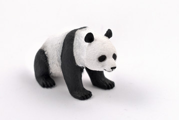 Panda stock images. Panda isolated on a white background