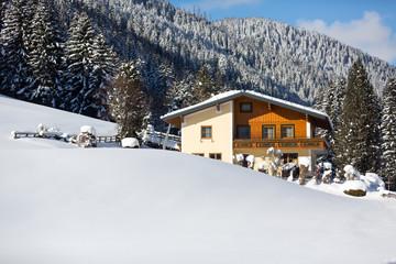 Wall Mural - Winter in den Alpen