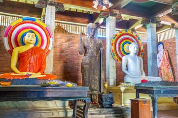 Interior of Dematamal shrine