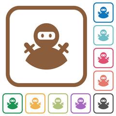 Ninja avatar simple icons