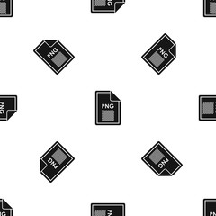 File PNG pattern seamless black