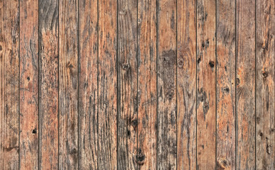 Old Weathered Rustic Knotted Pine Wood Planking Coarse Grunge Texture