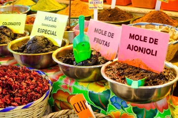 View of Mole in Oaxaca