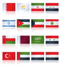Popular Flat Flag Middle East
