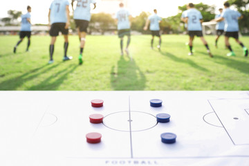 football training with plan