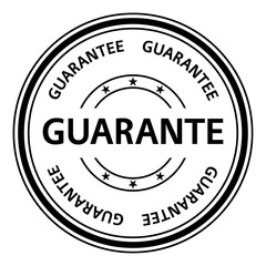 Guarantee stamp. Guarantee rubber stamp. Vector Guarantee stamp. Guarantee Grunge stamp. Roter stempel.