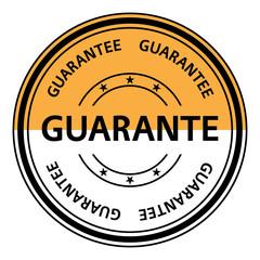 Guarantee stamp. Guarantee rubber stamp. Vector Guarantee stamp. Guarantee Grunge stamp. Roter stempel.