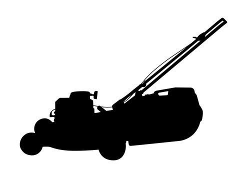 Push Mower Silhouette