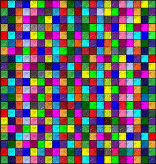 colored image of blocks