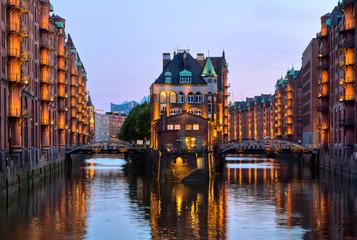 Hamburg, Speicherstadt, Waserschloss