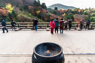京都 清水寺 清水の舞台