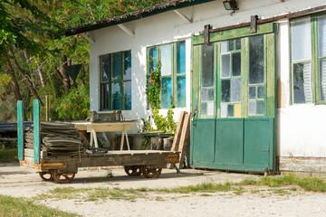 ARCACHON BAY (France), oyster hut