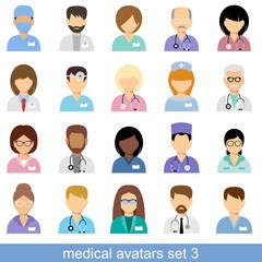 Medical avatars