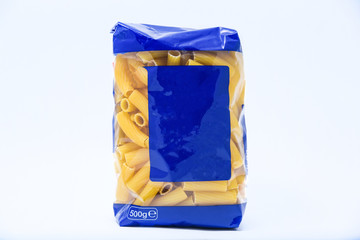 pasta in the package