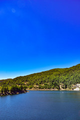 Lake of the Aspromonte south italy