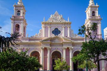Virgin cathedral, Salta, Argentina