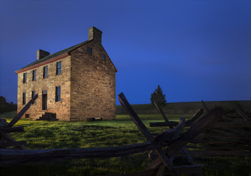 Stone House Manassas Virginia at Bull Run Battlefield Park