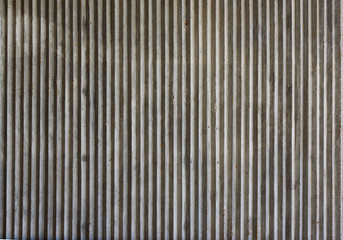 Ribbed Concrete Background
