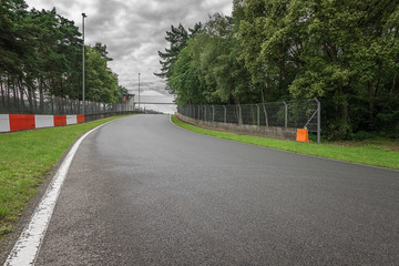 Motorsport Rennstrecke in Belgien