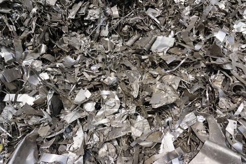 aluminium schrott recycling blechabfall stockfotos. Black Bedroom Furniture Sets. Home Design Ideas