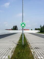 Sammelpunkt Parkplatz