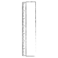 Ruler measure tool icon vector illustration graphic design