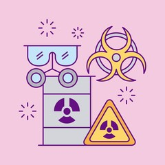 Images scientific laboratory icon vector illustration design graphic
