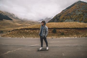 skating season on mountains