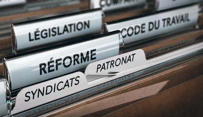 Dossier Réforme du Code du Travail, Syndicats et du Patronat