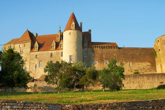 Chateauneuf en Auxois, Bourgogne, France