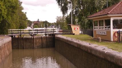 Götakanal in Söderköping