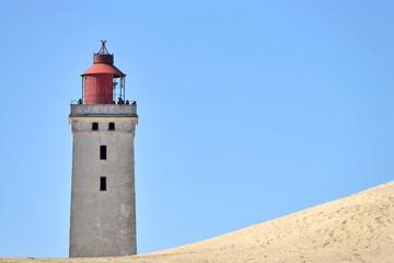 Leuchtturm Rubjerg Knude an der dänischen Nordseeküste