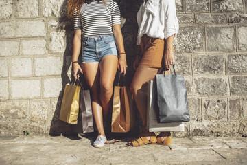 Girls in Shopping