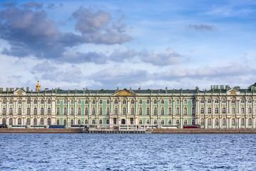 Hermitage museum panorama.