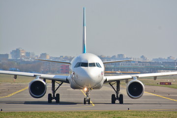 Eurowings plane view