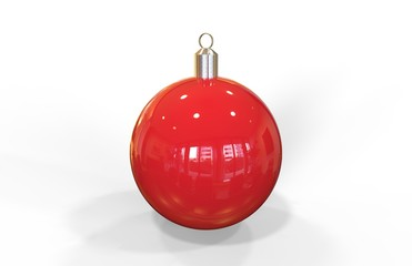 Christmas Ball, 3D Illustration